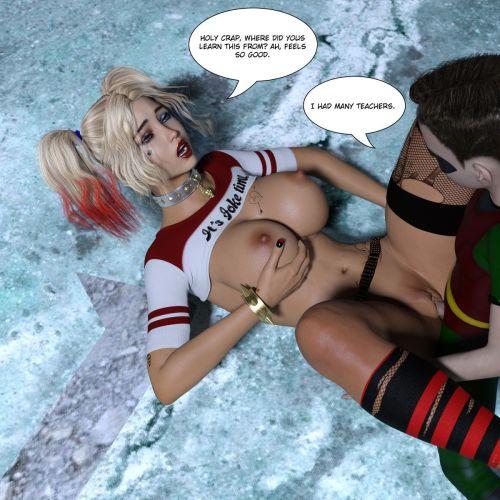Harley Quinn- Mad Shota Love - part 2