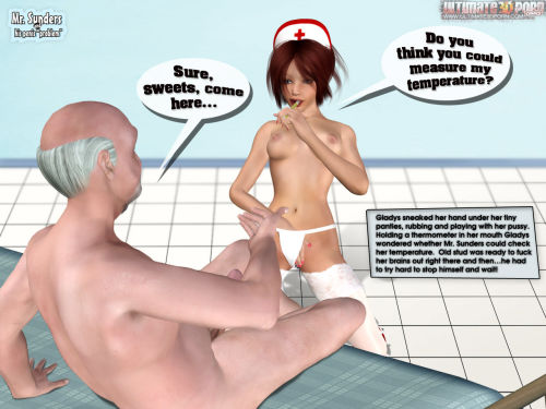 "Mr. Sunders- Penis ""Problem"" - part 2"
