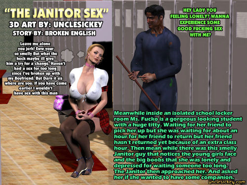 The Janitor Sex- UncleSickey